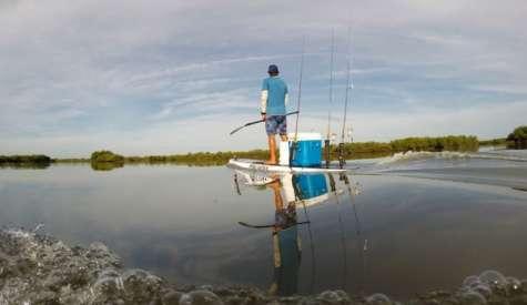 Wavejet Pau Hana Big EZ Angler & Walden SUP 10'0