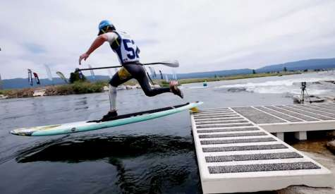 Mo Freitas Masters The River At The 2015 Payette River Games