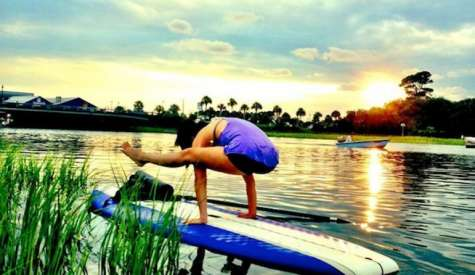 3 Benefits of SUP Yoga