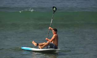 How To Properly Fall Off Your SUP