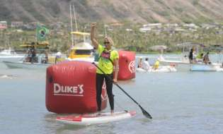Honscheid and Grant Win 19th Annual Molokai To Oahu In Challenging Conditions