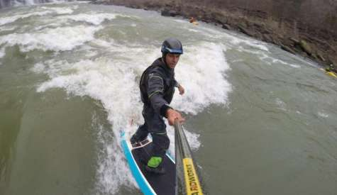 River Surfing Basics On Your Paddle Board